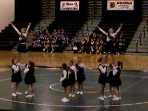 Portland Middle School Competitive Cheer Team!