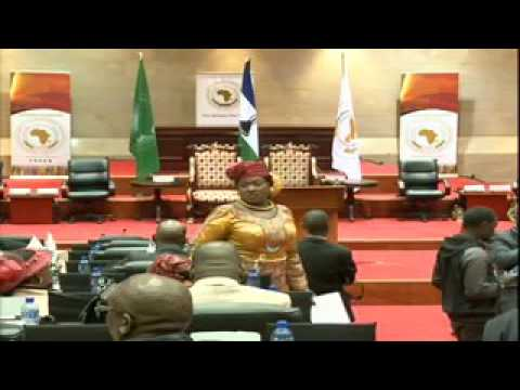 Speakers Conference at the Pan African Parliament. Day01