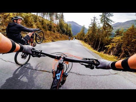Sick DOWNHILL Mountainbike & 4K Drones  | Lifestyle Vlog