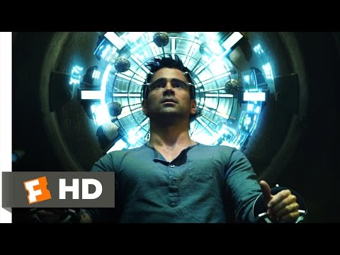 Total Recall (2012) - Secret Agent Scene (1/10) | Movieclips