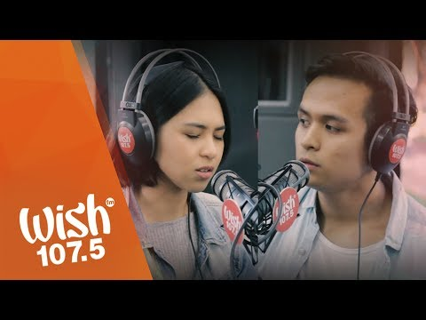 "Dane Hipolito and Clara Benin perform ""Plastic Bag"" LIVE on Wish 107.5 Bus"