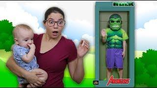 CADU and New Hulk doll / BONECO GIGANTE DE VERDADE