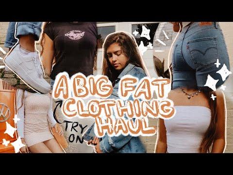 HUGE TRY ON CLOTHING HAUL FALL 2019! | Francesca Grace