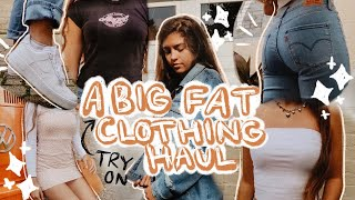 HUGE TRY ON CLOTHING HAUL FALL 2019! | Francesca Grace