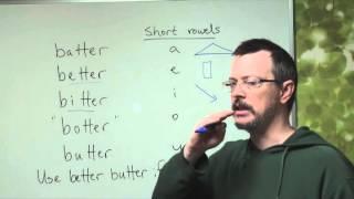 Q&A: BATTER vs BETTER vs BITTER vs BOTTER vs BUTTER: Vowel sound differences