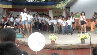 Production number Mr & Ms UN ( Bacao Elementary School )