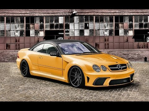 mercedes cl w215 tuning body kit youtube. Black Bedroom Furniture Sets. Home Design Ideas