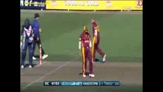 Girl imitating sex Moves on the cricket Field