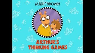 Arthur's Thinking Games PC Gameplay