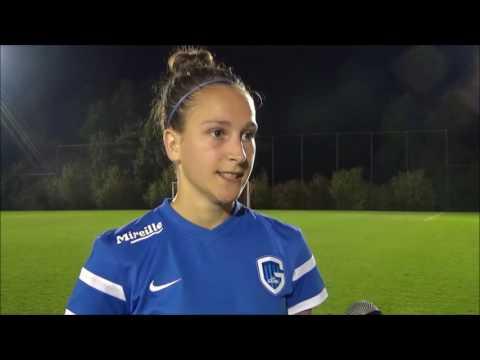 20160923 Standard de Liège   KRC Genk Ladies   Interview Gwen Duijsters