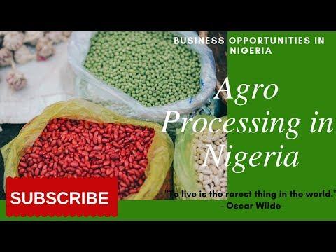Value Addition: Agro-Processing in Nigeria | 2019