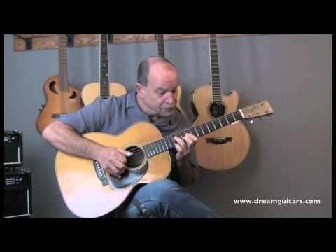 1931 Vintage Martin OM-28 played by Steve James at Dream Guitars