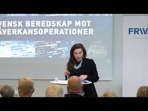 Lunchseminarium: Svensk beredskap mot påverkansoperationer