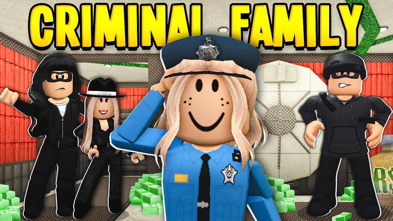 POLICE DAUGHTER Was Adopted By CRIMINAL FAMILY! (Roblox Bloxburg)