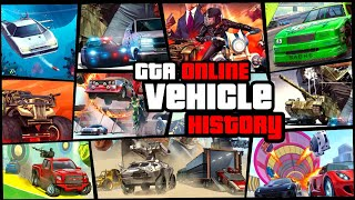 GTA V Online Vehicle History | All 388 vehicles in 35 DLCs