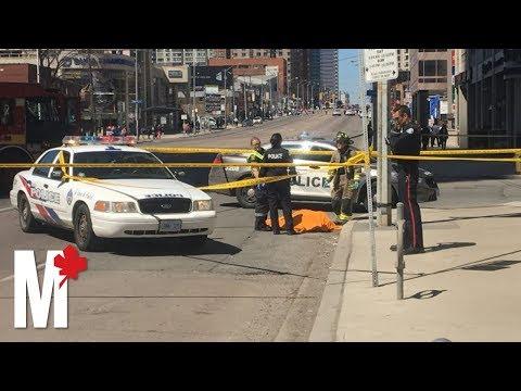 Toronto van crash near Yonge and Finch leaves 10 dead