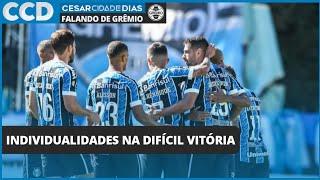 Confira as individualidades e a atuação do técnico Renato na dura classificação do Grêmio