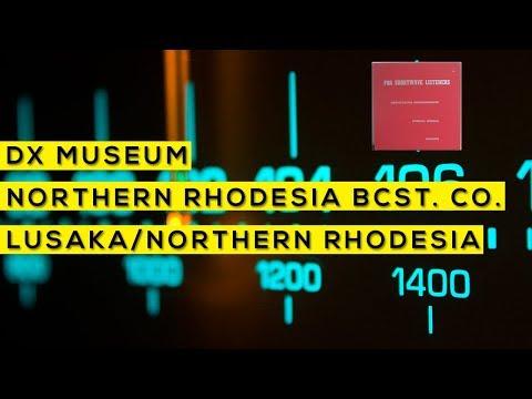 Para ouvintes de ondas curtas - Northern Rhodesia Broadcasting Corporation