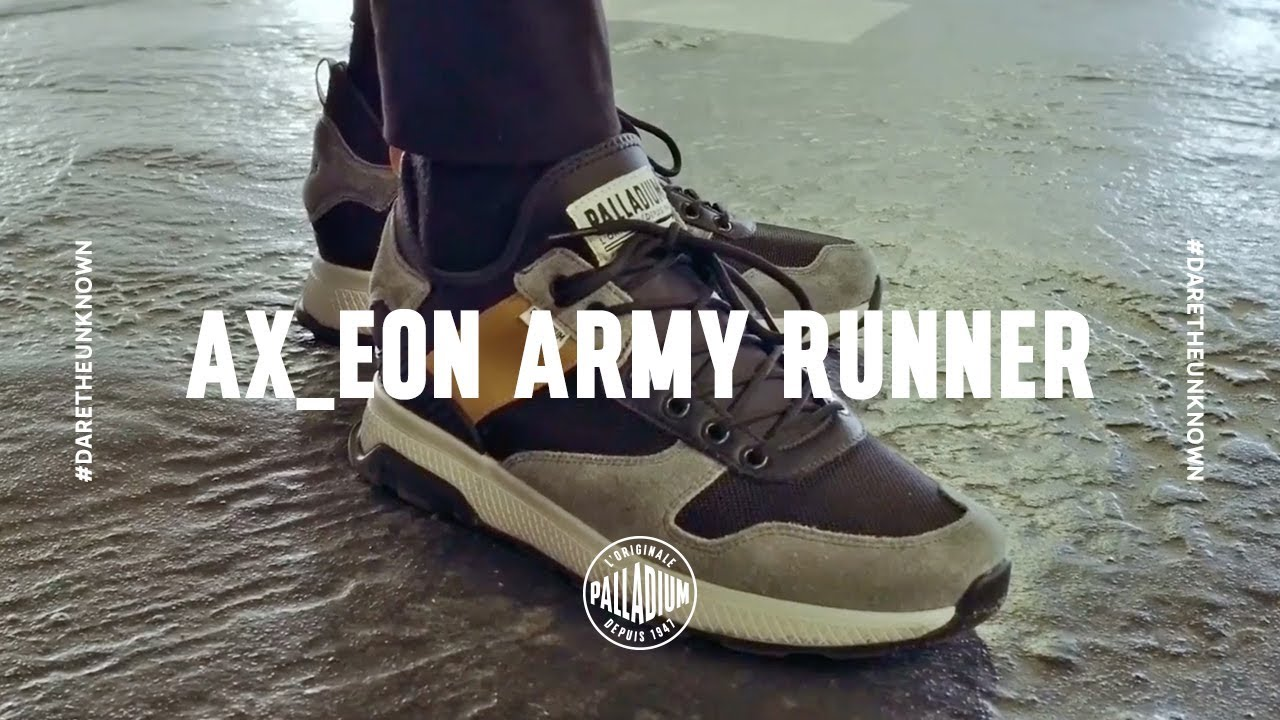 46f626ab1a4 AX EON ARMY RUNNER - YouTube