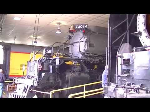 Union Pacific Big Boy 4014 - Cheyenne Steam Shop 5.17.2014
