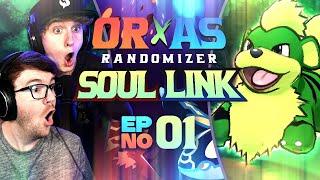 SUCH A LUCKY START! • Pokemon Omega Ruby & Alpha Sapphire Randomizer Soul Link • 01