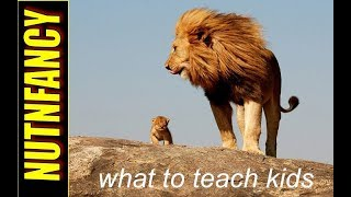 10 Things You MUST Teach Your Kids by Nutnfancy