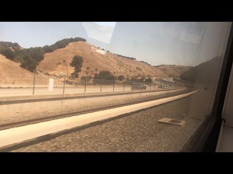 Bay Area Rapid Transit HD 60fps: Riding BART A Car (Bay Fair - Dublin / Pleasanton) 7/26/15