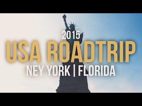 USA Road Trip | Travel Video | New York, Orlando (Sea World), Miami, Key West - Gopro Hero 3+