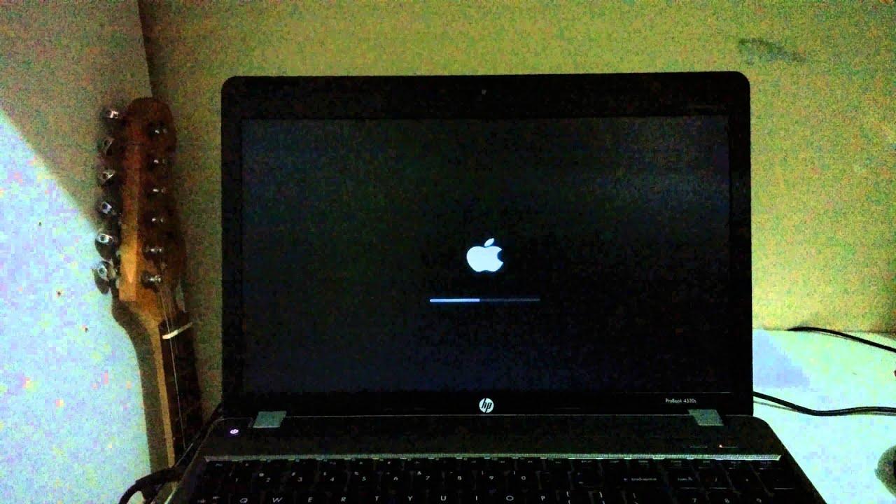 HP ProBook 4530s OS X El Capitan boot up