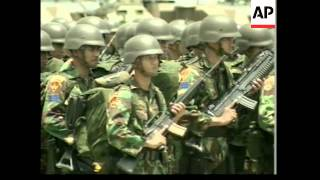 Indonesian marines deployed to Aceh