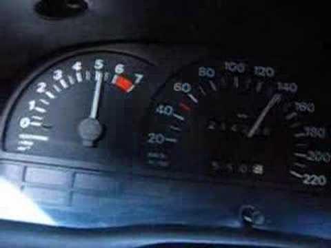 Opel Astra F Caravan Tacho / RAID Sportluftfilter