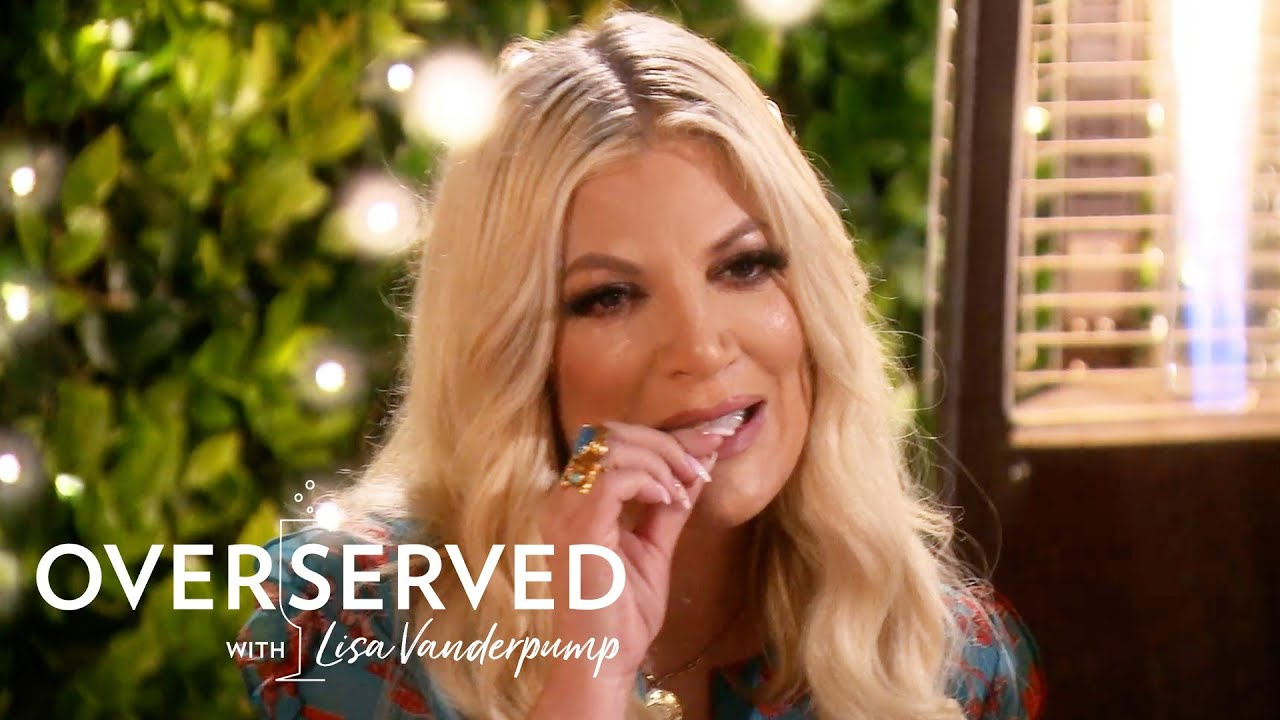 Watch Tori Spelling Eat Not One--But Two Tequila Worms!