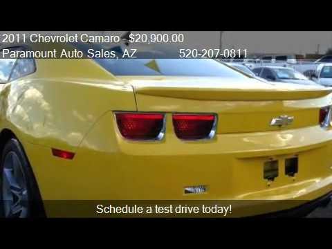 2011 Chevrolet Camaro LT1 Coupe - for sale in Tucson, AZ ...