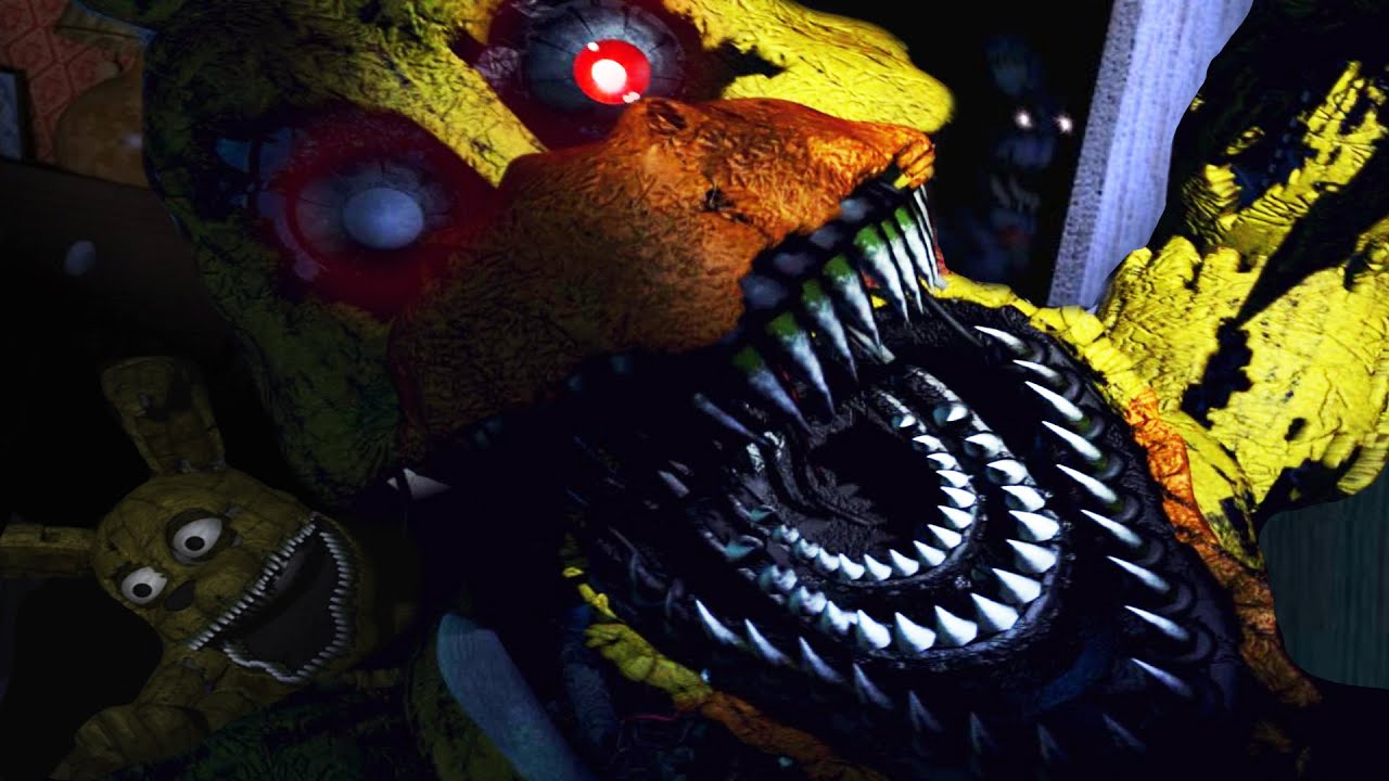 THEY'RE RIGHT BEHIND YOU... | Five Nights at Freddy's 4 - Part 2 image