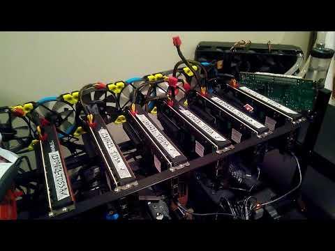 8 x Xilinx VCU1525 FPGA Crypto-Mining Rig Demo - YouTube