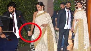 Ranveer Openly Holding Girlfriend Deepika Padukone