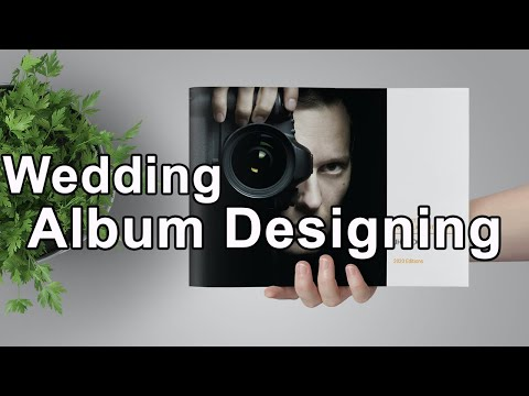Wedding album designing photoshop tutorial | wedding photo editing