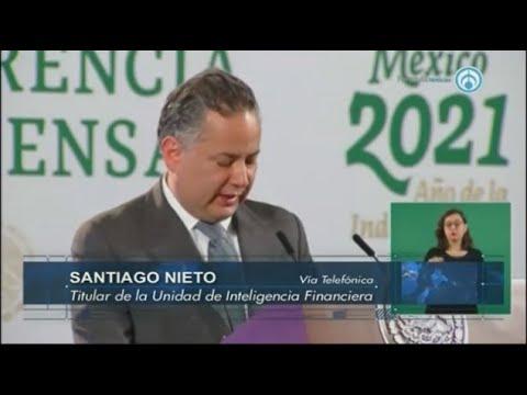 ¿Santiago Nieto, titular de la UIF, fue uno de los espiados con PEGASUS?  El funcionario responde