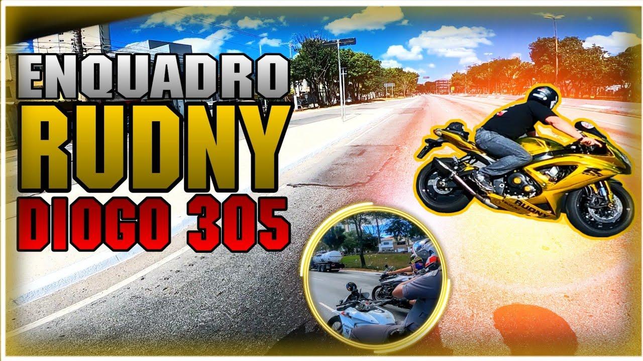 ENQUADRO RUDNY E DIOGO_305! SUZUKI GSX-R750 SRAD E TRIUMPH TIGER 800 X HONDA XRE 300!