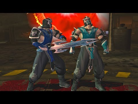 Mortal Kombat Armageddon SUB-ZERO (TRAJE ALTERNATIVO) FLAWLESS VICTORY | VERY HARD (PS2)【TAS】