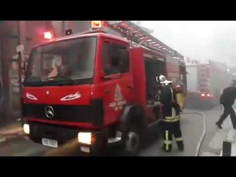 Πυρκαγιά σε ακατοίκητο στο κέντρο της Αθήνας