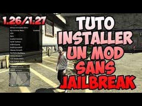 MOD SANS GTA 1.27 TÉLÉCHARGER 5 MENU PS3 JAILBREAK