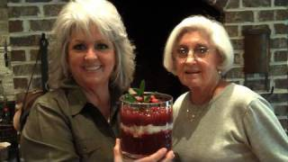 Paula Deen Makes Cranberry Sauce