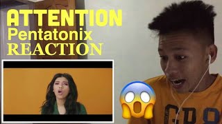 Attention - Pentatonix (REACTION) This was so cool guys, they're al...