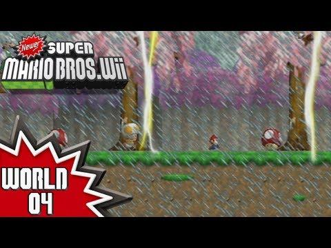 Newer Super Mario Bros. Wii - World 4 (2/2)