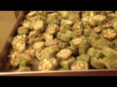 Broccoli Okra Freeze Dried at Home Harvest Right Freeze Dryer Healthy  Vegetables Dried Greens