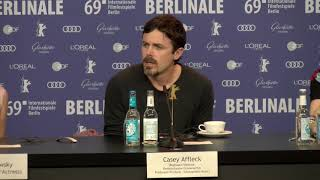Casey Affleck On Light Of My Life Berlinale 2019