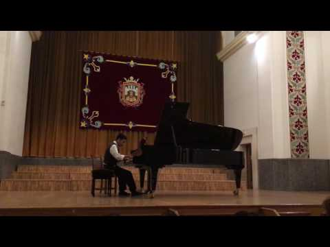 Eshpai - Toccata - Alexander Phan, International Music Festival - Burgos, Spain 07/2016