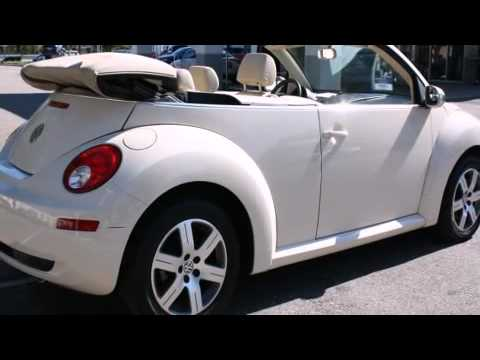 volkswagen  beetle convertible coupe  clearwater fl  youtube