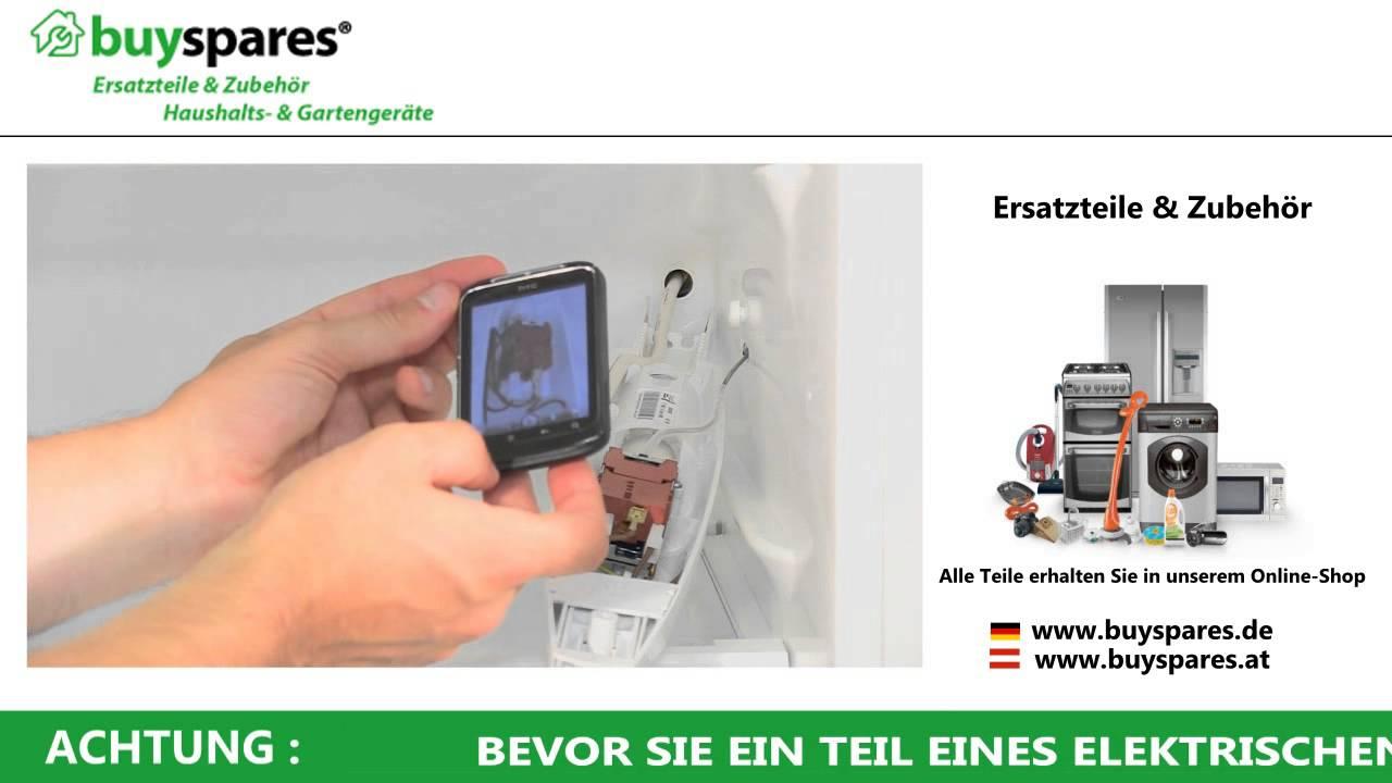 So wechselt man ein defektes Kühlschrank Thermostat - YouTube